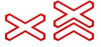 знаки 1.3.1 и 1.3.2