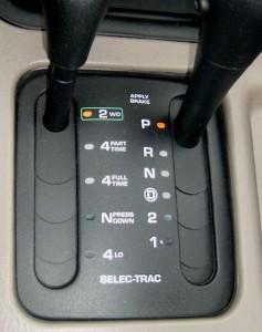 Селектор выбора привода