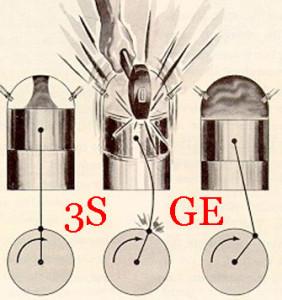 Стуки в двигателе 3S-GE